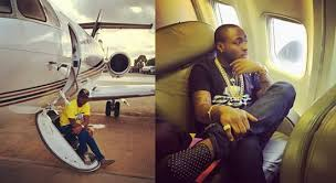 Davido's Father Private Jet