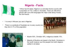 fun facts about nigeria