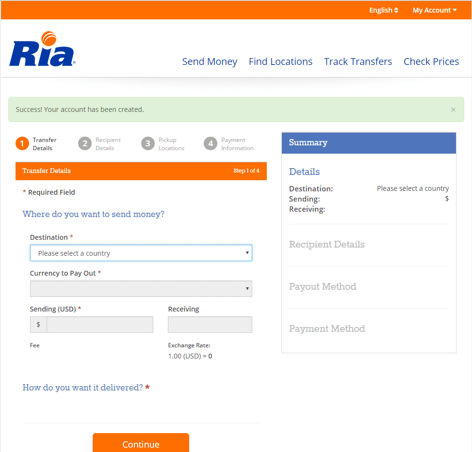 How To Do Ria Money Transfer Online