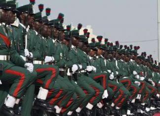 Nigerian Army ranks and salary